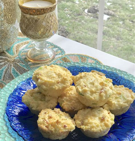 cottage cheese and cottage cheese and egg breakfast muffins recipe with ham