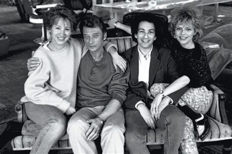 josiane balasko johnny hallyday quand johnny hallyday racontait france gall et michel berger