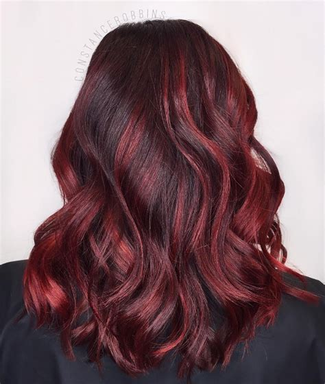 pictures of sapphire black hair with red highlights maroon streaks in black hair www pixshark com images
