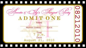 Template For A Ticket by Free Templates For Birthday Invitations Drevio