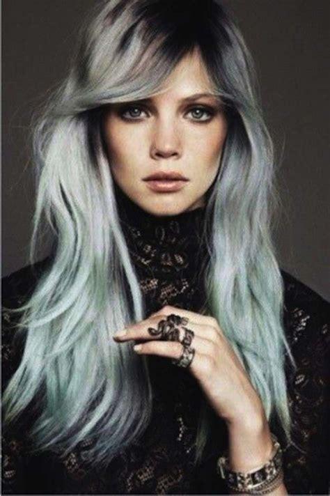 tendencia de cabello gris y diferentes looks tendencia pelo gris fotos de los looks foto ella hoy