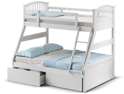 3 Sleeper Bunk Beds by Sweet Dreams Epsom 3 Sleeper Bunk Bed At Bestpricebeds Co Uk