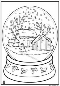 christmas and winter coloring pages online free