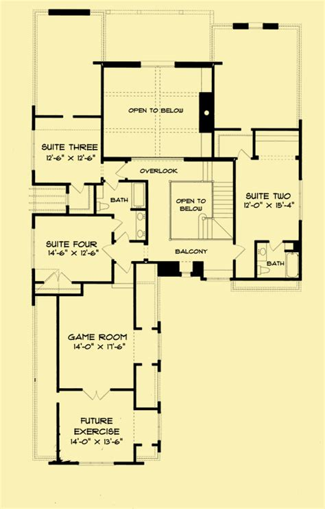 tudor revival floor plans english tudor house plans for 2 story home with 4 bedrooms