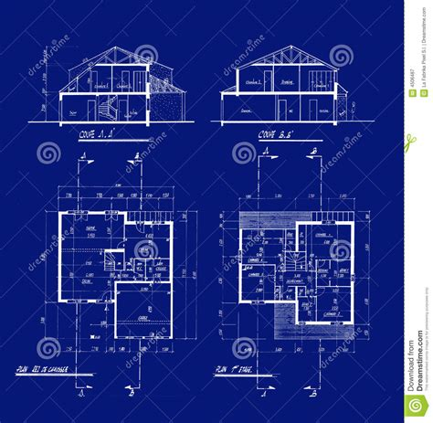 house blueprint royalty free stock photos image 21211358 house blueprints stock illustration image of scale blue