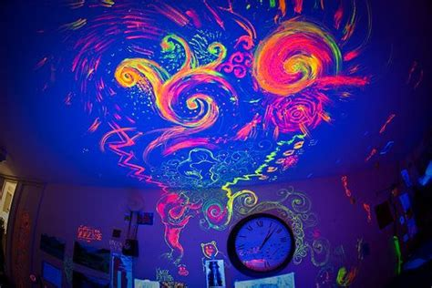 decoration blue pink butterfly neon paint for walls splatter neon colors rock neon paint for