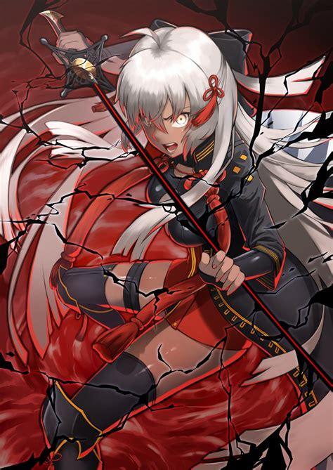 majin saber koha ace zerochan anime image board