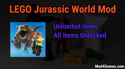 game jurassic world mod apk lego jurassic world unlimited money game mod apk free with