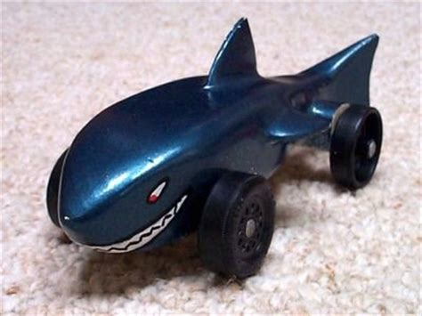 pinewood derby shark template shark car by jchon paradise lumberjocks