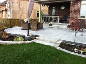 Raised Gravel Patio by Raised Patio Stoneworks Landscape Construction