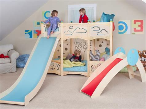 toddler bunk bed with slide stylish bunk beds for girls