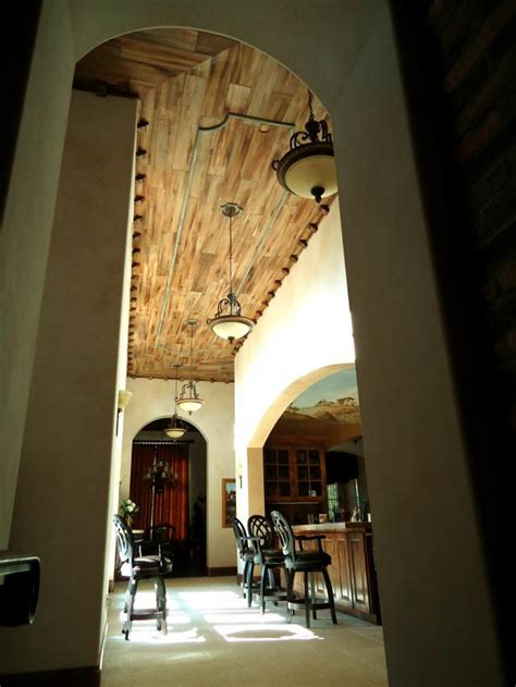 Distressed Wood Ceiling by Distressed Wood