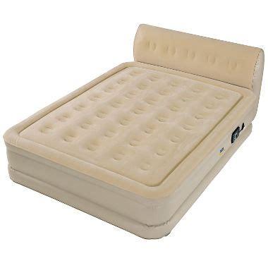 serta sleeper air bed with headboard sam s club