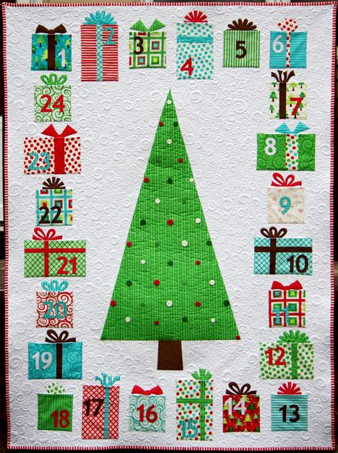 pattern for christmas tree advent calendar ahhh quilting advent calendar quilt