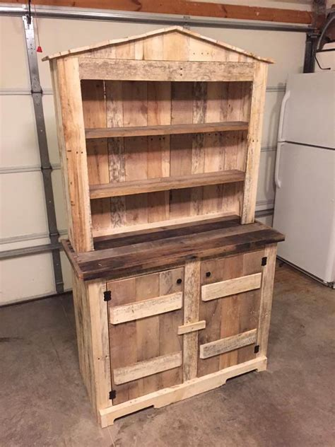 diy kitchen furniture 1000 ideas about pallet hutch on pinterest the rusty