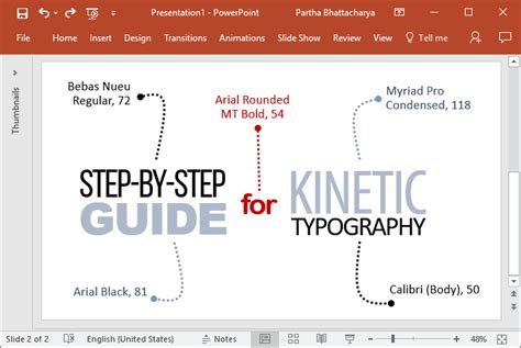 Kinetic Typography In Powerpoint A Step By Step Guide Kinetic Typography In Powerpoint