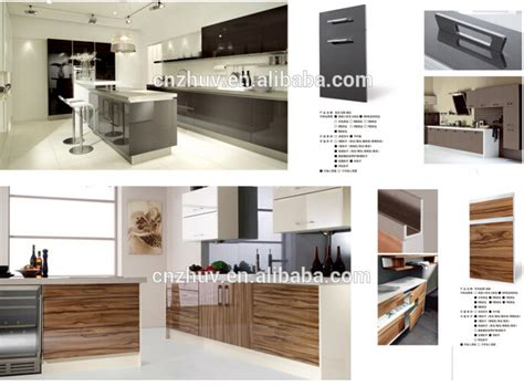 polymer kitchen cabinets uv polymer kitchen board cabinets door panel buy uv door