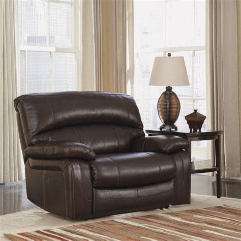 ashley brown leather recliner ashley furniture damacio leather zero wall recliner in