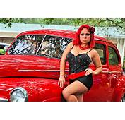 Displaying 20&gt Images For  Car Pin Up Girls