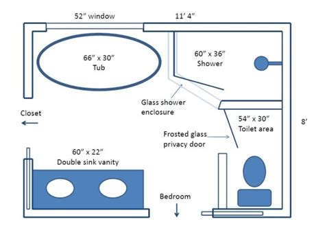 Six Bedroom Floor Plans Finished Bathroom