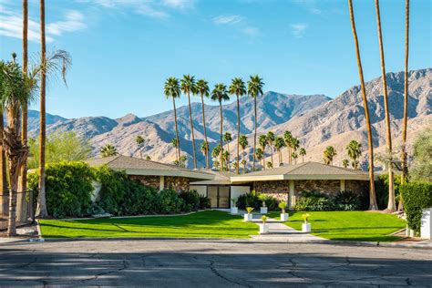 palm springs home design expo own william krisel s palm springs pod house for 2 5m