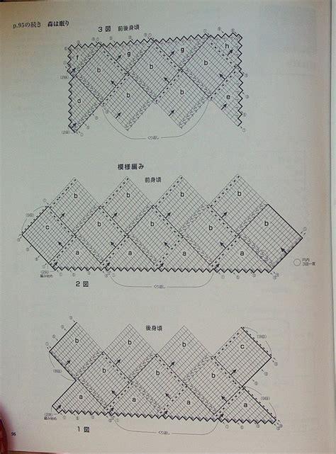 knitting diagram 386 best entrelac el n 228 vestickn images on