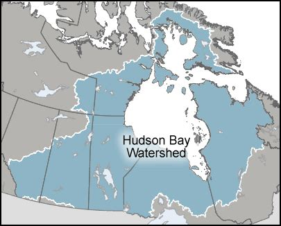 map of canada hudson bay environment and climate change canada water hudson bay