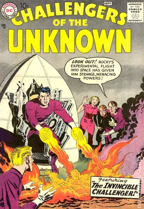 challengers of the unknown challengers of the unknown 1958 dc 1st series comic books