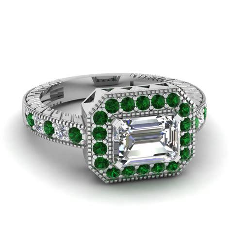 horizontal halo ring fascinating diamonds