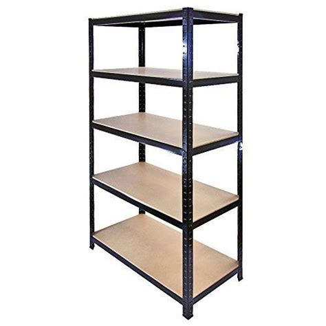 5 tier heavy duty boltless metal shelving shelves storage