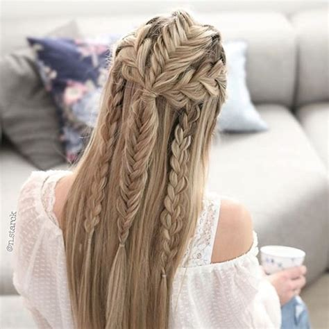 daily hairstyles for long straight hair 12 chic hairstyles for long straight hair fashion daily