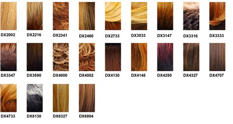 wig color chart it s a wig color charts