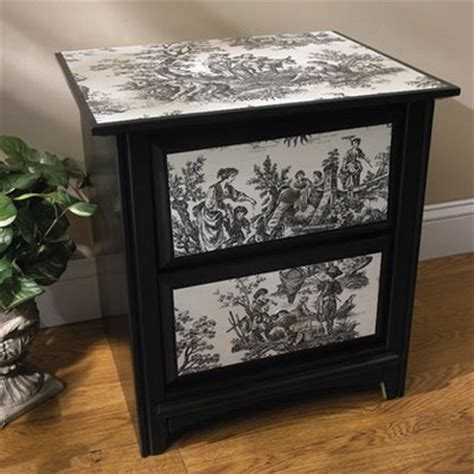 How To Decoupage A Dresser - decoupaged furniture decoupage projects
