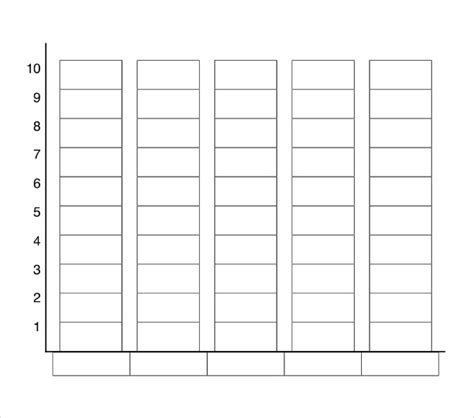 free printable graph paper for elementary students bar graph template for elementary students printables