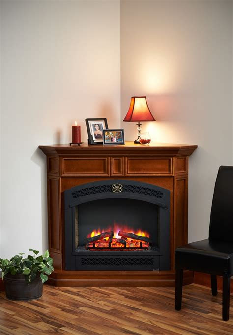 Front Electric Fireplace by 51 Quot Columbia Corner Arch Front Electric Fireplace