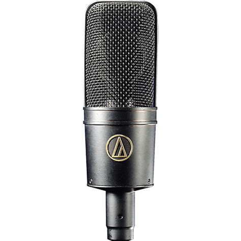 condenser microphone how audio technica at4033cl large diaphragm condenser microphone musician s friend