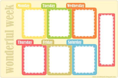 printable homework weekly planner free printable weekly planner ausdruckbarer wochenplan