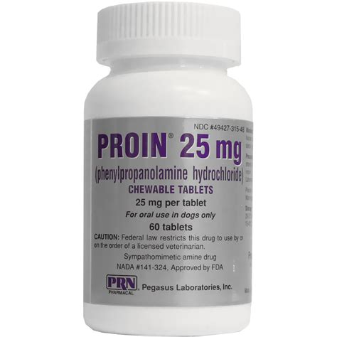 proin for dogs proin 25 mg 60 chewable tablets