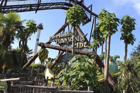 banana boat ride near me thorpe park mania mr monkeys banana ride