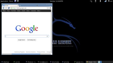 Chrome Kali Linux | instalar chrome en kali linux lignux
