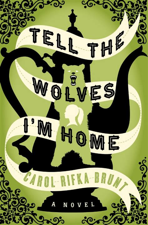 tell the wolves that this book is amazing forever