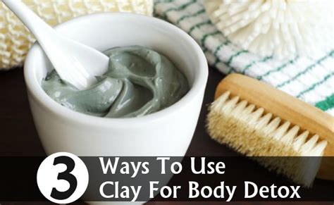 Ways To Detox Lead by 3 Best Ways To Use Clay For Detox Diy Health Remedy