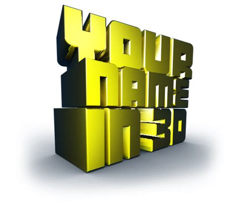 Get Your Name Search 3d Name Wallpapers Make Your Name In 3d
