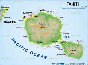 Tahiti Map Of World by Gallery For Gt Tahiti Islands On World Map