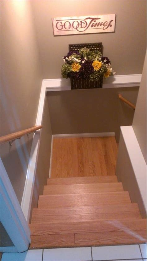 i like this color for the basement quot ty s cave quot basement stairwell home and garden design