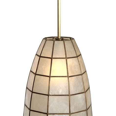 Shell Pendant Light Capiz Shell Ceiling Pendants At 1stdibs