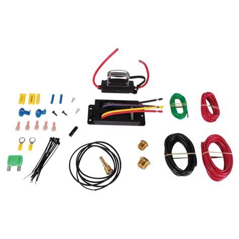 flex a lite adjustable electric fan controllers flex a lite 31163 temp sensitive variable speed control