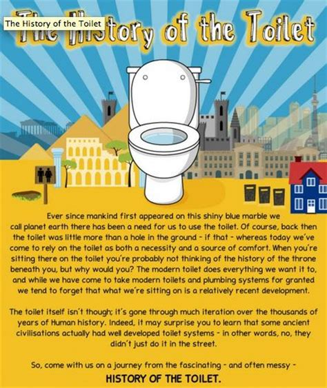 bathroom facts toilet history infographics toilet history infographic