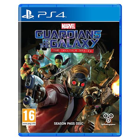 Kaset Ps4 Guardians Of The Galaxy The Telltale Series ps4 marvel guardians of the galaxy 5051895409299