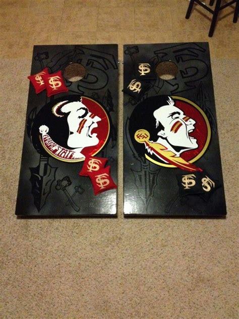 FSU Old vs New Logo Cornhole Boards | Cornhole Boards ... Jayhawks